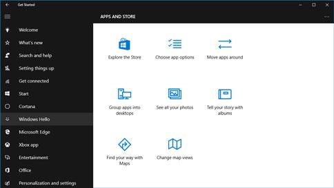 Hilfe zu Windows 10
