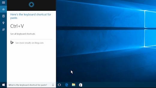 ohjeiden etsiminen windows 10:ssä