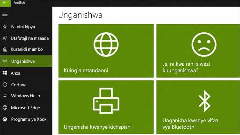 jinsi ya kupata msaada kwenye windows 10