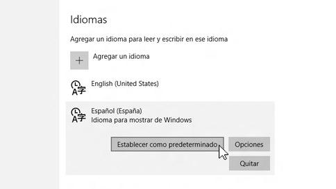 cómo añadir un idioma de entrada en windows 10