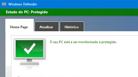 proteger o seu pc windows 10 com o windows defender