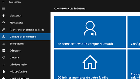 obtenir de l'aide sous windows 10