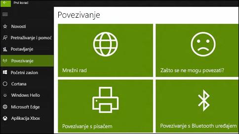 pristupanje pomoći u sustavu windows 10