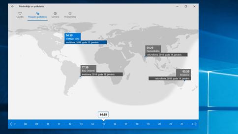 kā izmantot modinātāju operētājsistēmā windows10