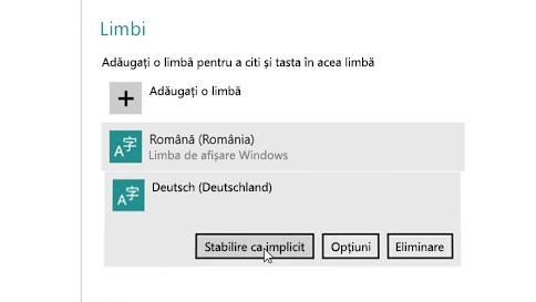 cum se adaugă o limbă de intrare la pc