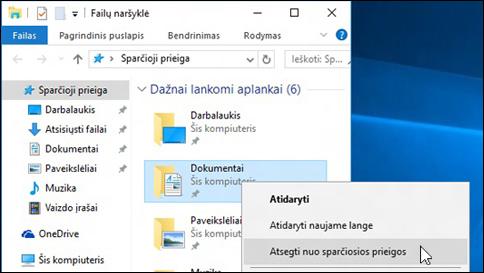 """gaukite pagalbos dėl failų naršyklės """"windows 10"""""""