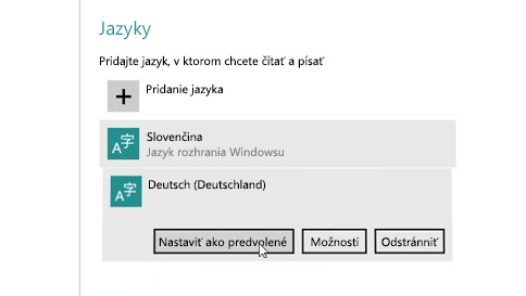 ako pridať vstupný jazyk do počítača