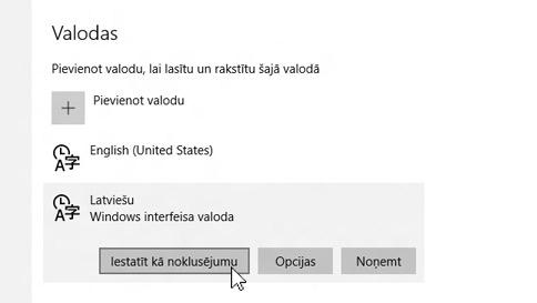 kā datorā pievienot ievades valodu
