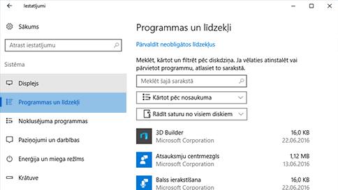 vienuma skenēšana programmatūrā windows defender