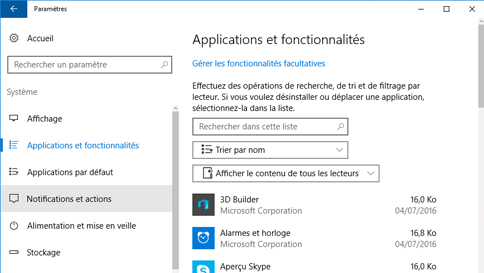 analyser un élément avec windows defender
