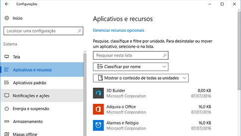 examinar um item com o windows defender