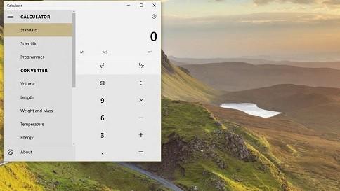 what's new in calculator in windows 10