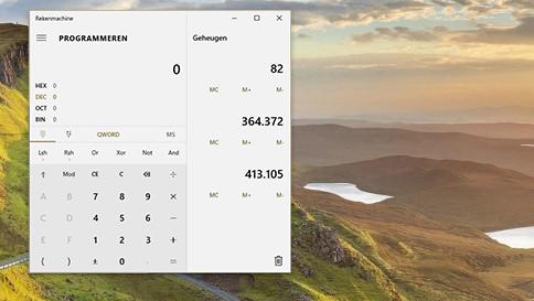 co nowego w programie kalkulator w systemie windows10
