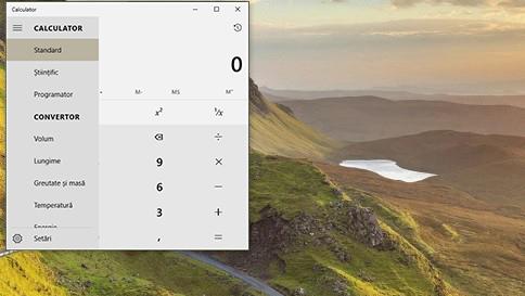 ce este nou în calculator în windows 10