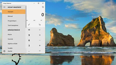 windows 10 hesap makinesindeki yenilikler