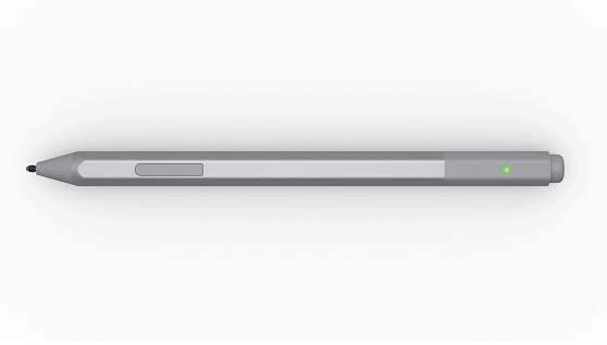 change the battery in surface pen