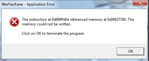 WerFault.exe Windows Sorun Bildirme (32 bit)